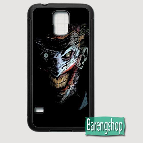 Rubber Case The Joker Fantasy DC Comics Custom Samsung Galaxy S5 Case
