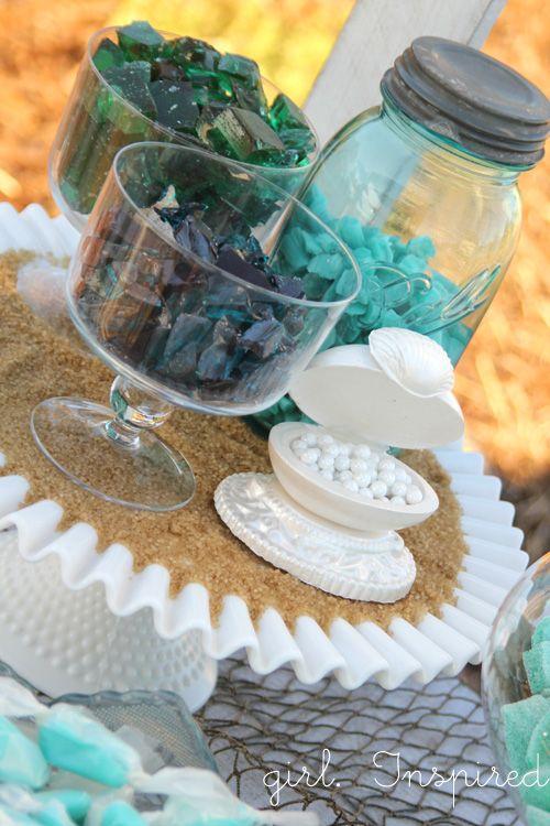 "homemade candy ""sea glass""  {Girl. Inspired.}"