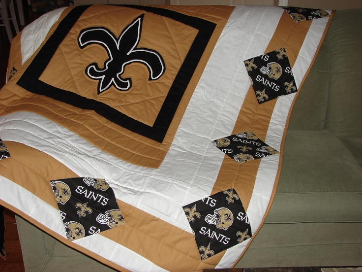 Best 40 Saints Quilts Ideas On Pinterest New Orleans