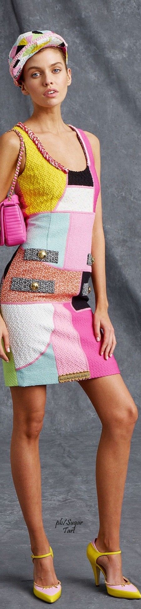 Moschino Resort 2016 Desperately need to diy this now, but with a different neckline