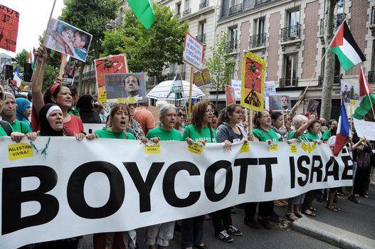 La manif-pro Gaza du 2 août 2014 à Paris