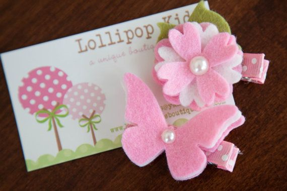 Toddler Hair Clip Baby Hair Clip Infant by Lollipopkidsboutique