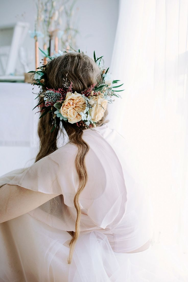 257 best Bridal Flower Crowns images on Pinterest