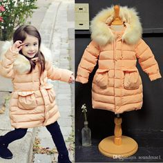 Amber Berry Age3 12 Children Winter Clothing Ski Jacket Girls Snowsuit Parka Hooded Cotton Clothes Baby Outerwear Kids Children'S Down Girls Down Parka Kids Down Jacket Sale From Soundmae1, $180.91| Dhgate.Com