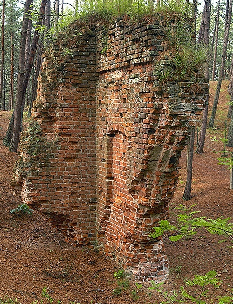 Poland, Pomerania, Old Łeba, The ruins of gothic church by Marcin Mazurkiewicz