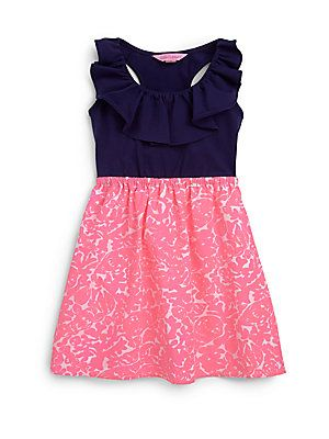 Lilly Pulitzer Kids Toddlers & Little Girls Little Lorrane Dress