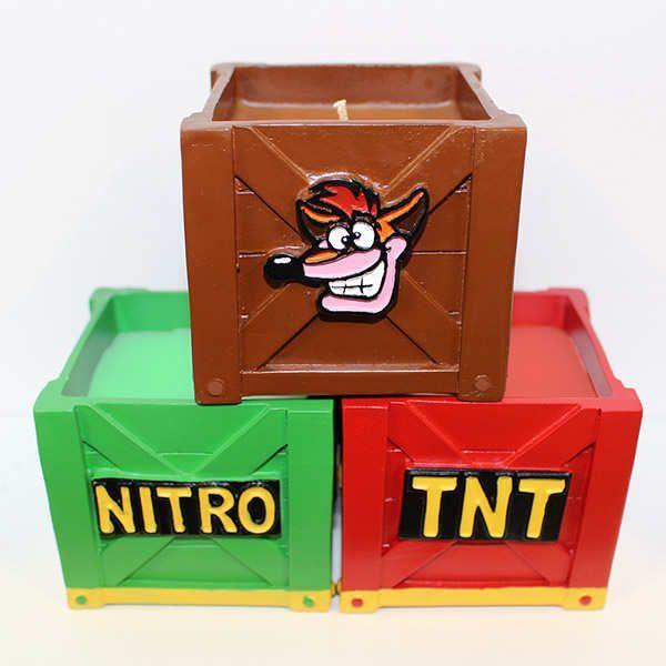 Crash Bandicoot Scented Candle Pack