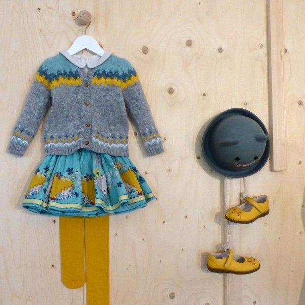 Folklore and animal inspirations at Marks and Spencer kids fashion for fall/winter 2014