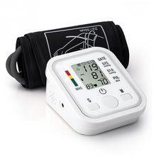 DC 6 V BP monitor de Pressão Arterial Digital Automático Monitor de Pressão Arterial Esfigmomanômetro Tonômetro Portátil Dispositivo alishoppbrasil