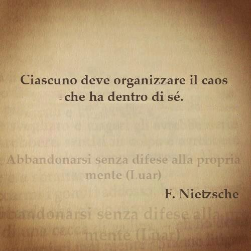 Nietzsche e il Caos