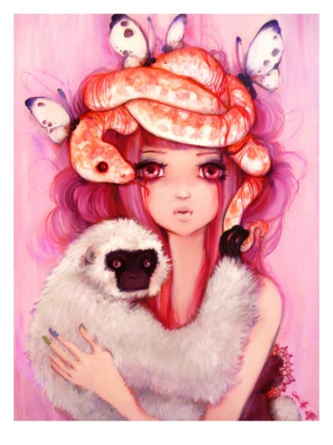 Unwavering Hearts Giclee Print by Camilla D'Errico at Art.com