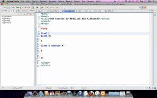 كورس برمجة PHP 101 الحلقة 95 - شرح طريقة إستخدام Final Class http://ift.tt/2mYcD2x