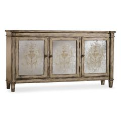 Three Door Mirrored Chest - CLOSEOUT, Hooker Furniture, Accents Collection