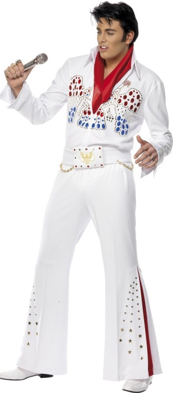 This white Elvis costume is perfect for that rock n roll themed party at only £47.55 (Discount available for multiple purchases)