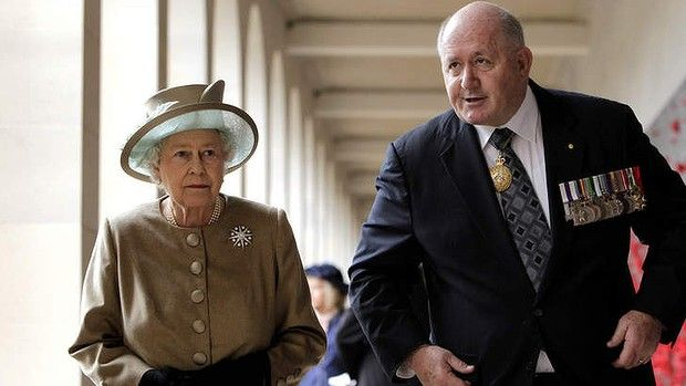 Governor-General Peter Cosgrove: A rough diamond's time to shine.   I am certain that Liz here would agree with at least the 'rough' part of that headline.