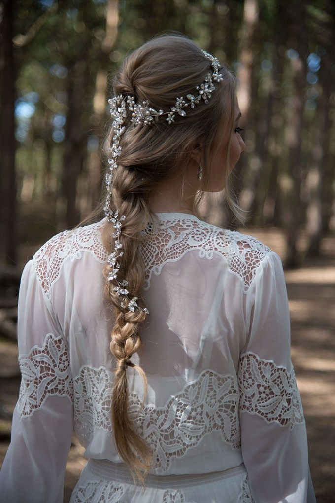 Bridal Style – Rocks for Frocks: Enchanted Forest Headpiece Collection