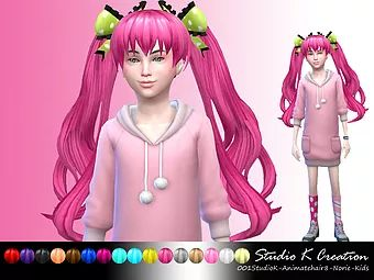 The main blog of Studio K-Creation(Karzalee). Free download of Sims 4 Custom Contents. Clothing, hair,acc,weapons,decoration.poses, make-up, animate stuff