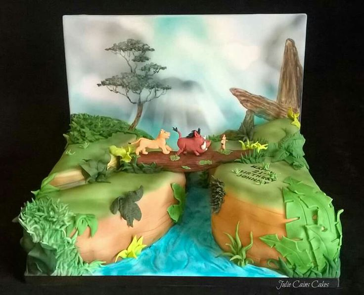 The Lion King cake