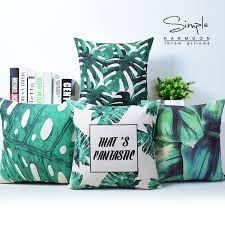 Areca palms with sofas