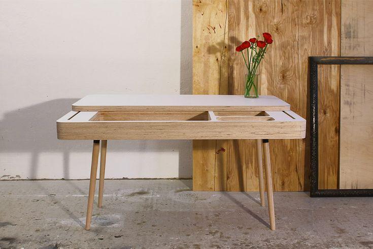 CHRISTOPH FRIEDRICH WAGNER ply desk