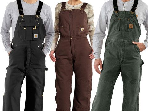 Men's Carhartt Overalls and Coveralls