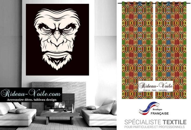 tissu textile motif imprimé pagne wax style africain Afrique kente bazin bogolan au mètre décoration ameublement #rideau#africain#décoration#ankara#pagne#wax#tissu#ameublement#style#motif#imprimé#tableau#sur#mesure#