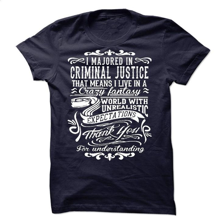I Majorted In Criminal Justice T Shirts, Hoodies, Sweatshirts - #hoodies #designer shirts. GET YOURS => https://www.sunfrog.com/LifeStyle/I-Majorted-In-Criminal-Justice.html?60505