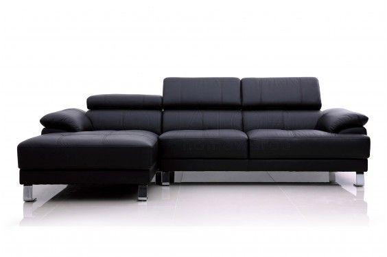 Como Modular Leather Chaise