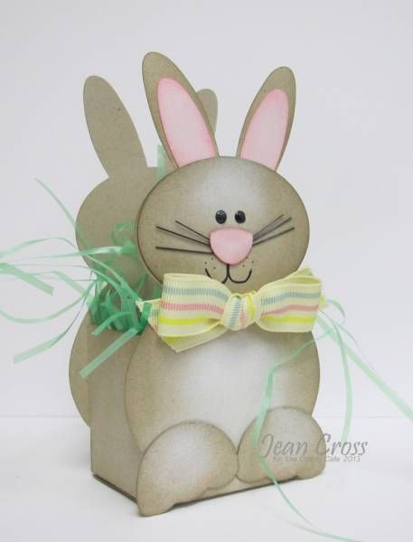 Bunny Basket by naturecoastcrafter - Cards and Paper Crafts at Splitcoaststampers