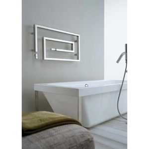 Hydronic Towel Warmer Scirocco Snake 85 9010 In White
