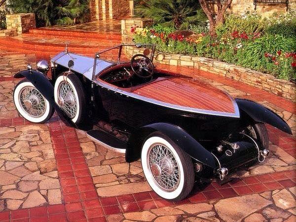1924 Rolls Royce Silver Ghost Boattail Speedster