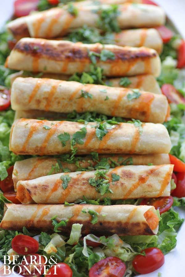 Sweet Potato and Lime Taquitos (Gluten Free and Vegan)