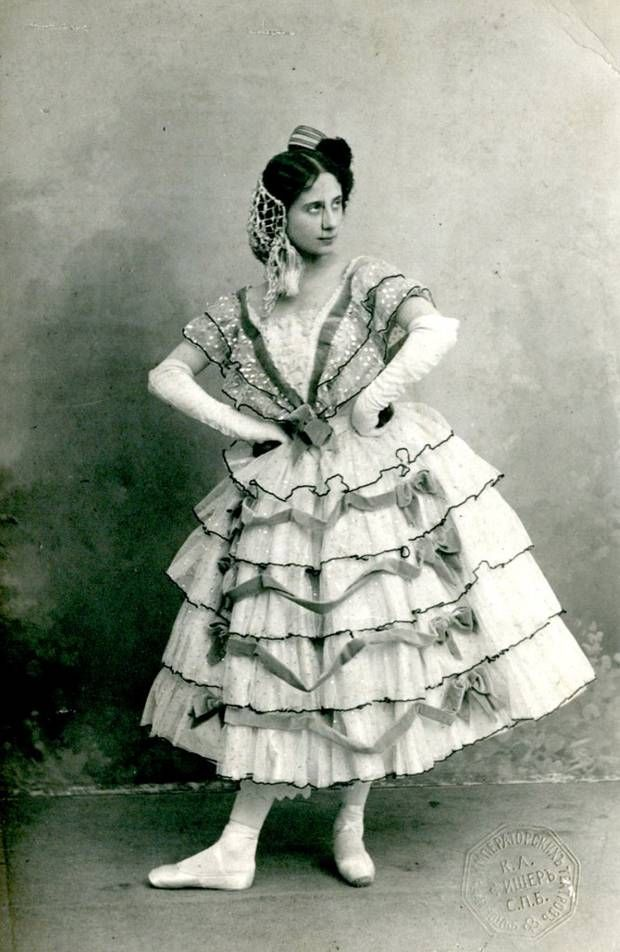 Anna Pavlova as the Spanish Doll in The Fairy Doll created for the Hermitag - The Independent