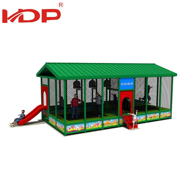 Source New Customized fitness kids outdoor mini rectangle trampoline park on m.alibaba.com