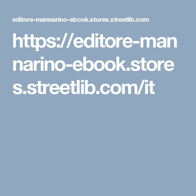 https://editore-mannarino-ebook.stores.streetlib.com/it