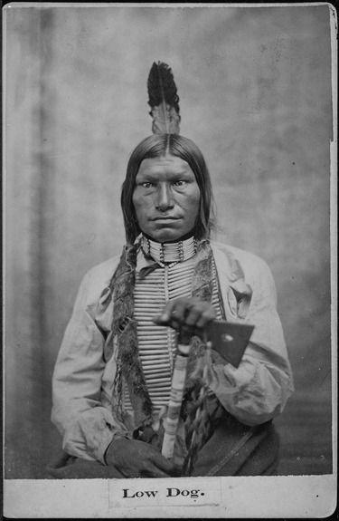 Chief Low Fog Oglala Sioux