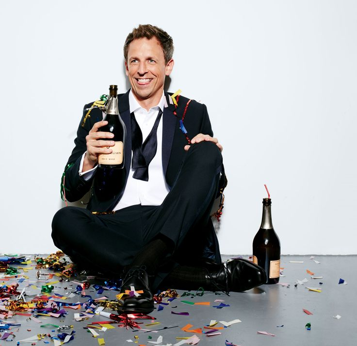 Funnyman Seth Meyers on his chimichanga nightmares.