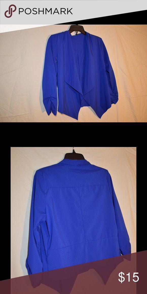 Royal Blue Blazer Royal Blue Work Blazer Size L Tops Blouses