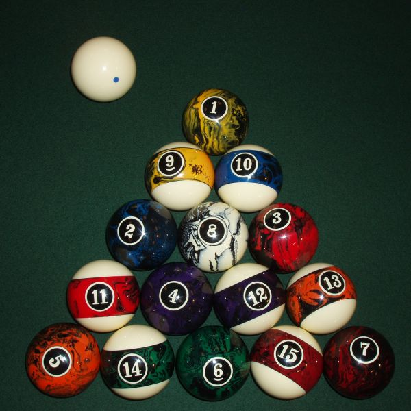 european billiard ball set by american heritage pool table accessories