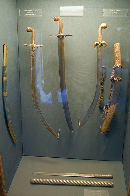 Sultan Murad IV Swords