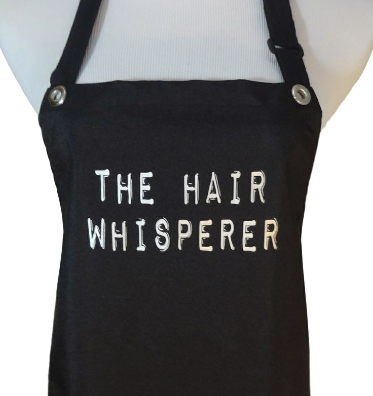 Hair Stylist Salon Apron Quot The Hair Whisperer Quot From Trendy