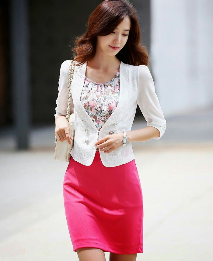 sacos para damas coreanos - Buscar con Google | vestidos ...