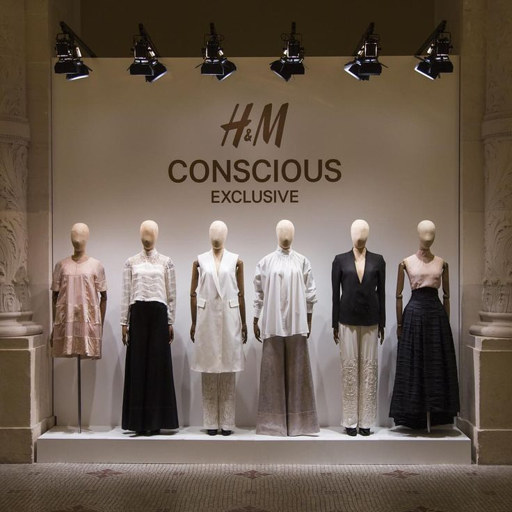 "H&M,Musee des Arts Decoratifs, Paris, France, ""We continue our work towards a more sustainable fashion future with the new Conscious Exclusive Spring Collection"", pinned by Ton van der Veer"