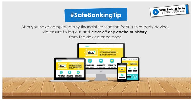 #SafeBankingTip Consider that your transaction isn't complete unless you finish these two very important steps. #SBI #StateBankOfIndia