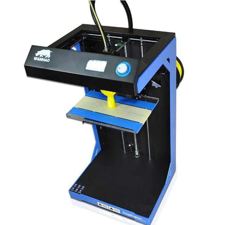 Der mit Abstand größte 3D-Drucker zum kleinsten Preis. Die einzige Herausforderung ist es durch das offene Gehäuse und schiere Größe Materialverzerrungen zu verhindern. Durch den Druck in die Höhe geht das trotzdem relativ gut und der Wanhao Duplicator 5S ist ein Klasse 3D-Drucker für größere Projekte in der (Hoch-)Schulen oder Architekturbüros.