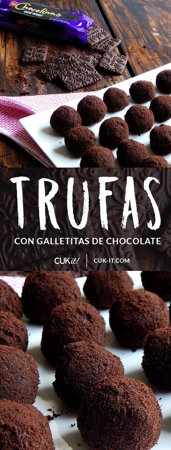 Trufas de Chocolinas #cukitrecetas #trufas #chocolate #Chocolinas #ChocolinasCacaoIntenso #ChocoIntensas #CacaoIntenso #argentina #receta #hechoencasa #foodporn