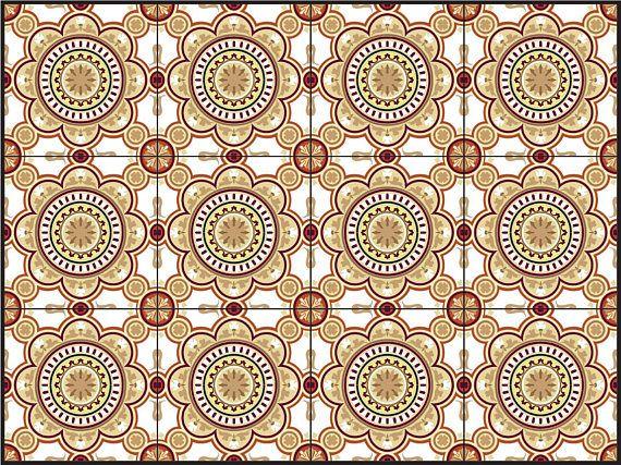 tiles stickers sets of 24 units bathroom tile kitchen tile kitchen backsplash removable peel and stick stickers carrelage - Tijdelijke Backsplash