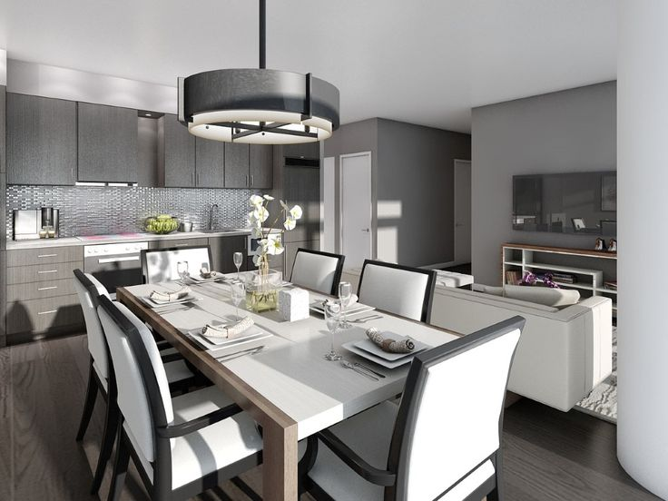 One of the beautiful penthouse kitchens, coming soon to 87 Peter