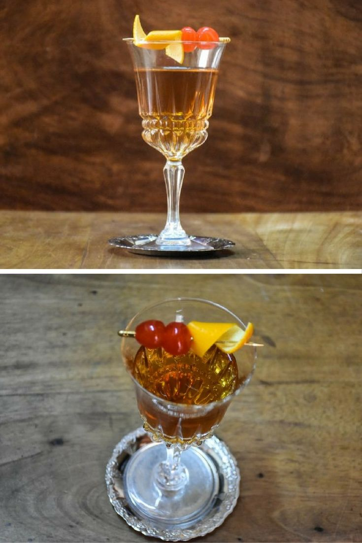Thinking about hosting a New Year's party? Then you'll need some cocktail recipes – but remember not everyone loves gin.  Instead, why not go for whiskey? A good Manhattan is a perfect, sophisticated sipper. The bourbon and sweet vermouth are just so great together.
