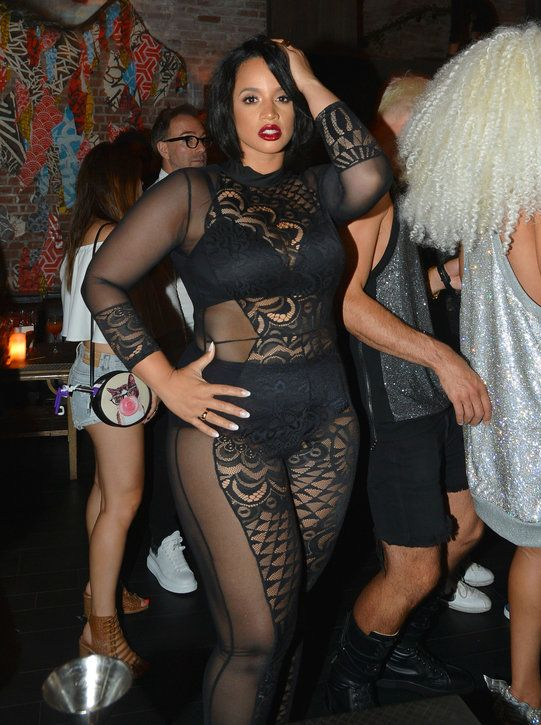 http://www.vivala.com/fashion-trends/dascha-polanco-naked/6515/That same night, her lightning struck for a second time in sexy sheer black realness./9